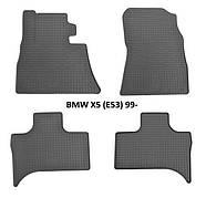 Коврики в салон резиновые Stingray BMW X5 (E53) 1999
