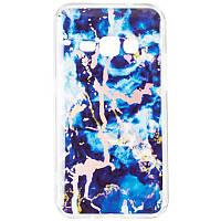 Чехол силиконовый Baseus Mramor Shine для Samsung Galaxy A9 2018 A920 Blue