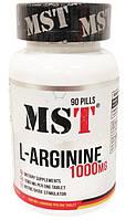 Аргинин MST L-Arginine 1000 90 pills