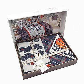 Комплект постільної білизни First Choice Ranforce Deluxe 3D підлітковий полуторний арт.Butterfly, фото 2
