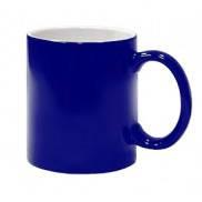 Чашка для сублимации хамелеон ПОЛУГЛЯНЕЦ (синий)