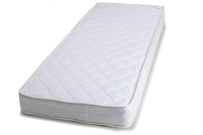 Матрас Руно детский 60*120 см в кроватку пружинный белый арт.1260Б, фото 2
