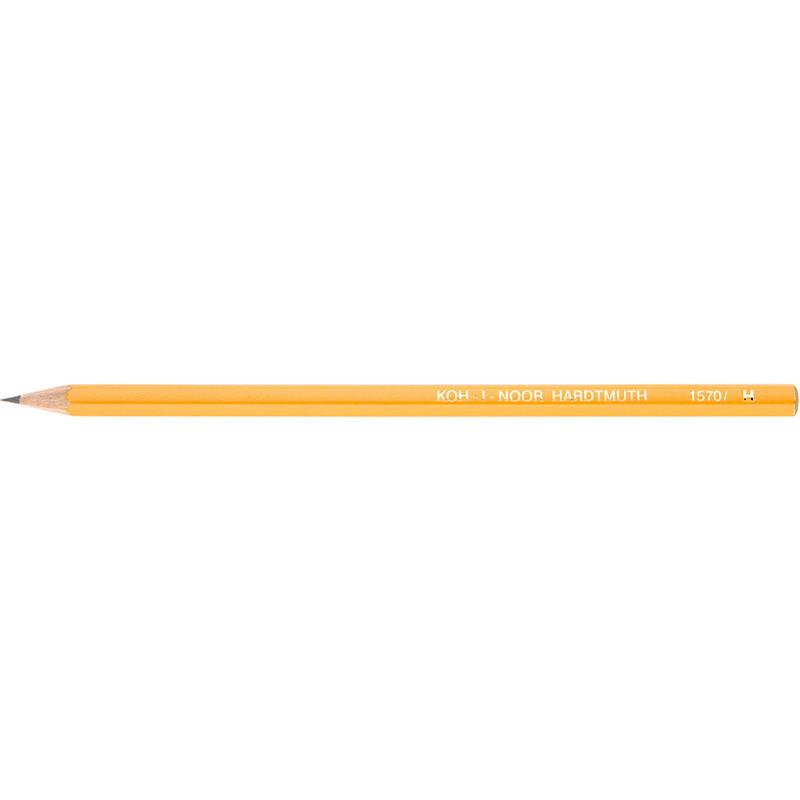 """Олівець чорнографітний """"KIN"""" 1570 H технічний"""