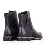 Женские кожаные ботинки  Anna Lucci F606-0400-N559B BLACK KOGA, фото 3