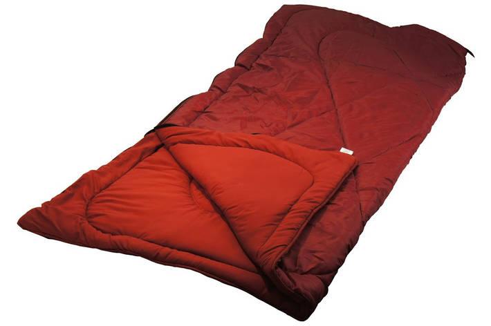 Мешок спальный Руно 200*85*2см 200 г/м2 1,45 кг бордовый арт.701.52L_бордовий, фото 2