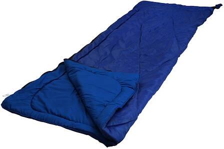 Мешок спальный Руно 200*85*2см 300 г/м2 1,95 кг синий арт.702.52L_синій, фото 2