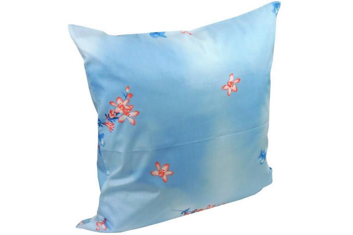 Наволочка на подушку Руно 70*70 см сатин арт.38.137_блакитний, фото 2