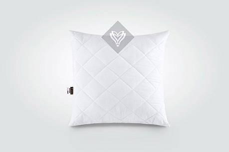 Подушка Ideia Comfort Standart+ 60*60 см микрофибра/силиконовые шарики белая арт.8-13501, фото 2