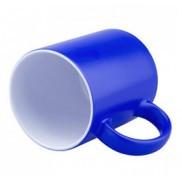 Чашка для сублимации хамелеон ПОЛУГЛЯНЕЦ (голубой)