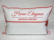 Подушка Leleka-textile Home Elegance Medium 50*70 см перкаль/силиконовые шарики, фото 2