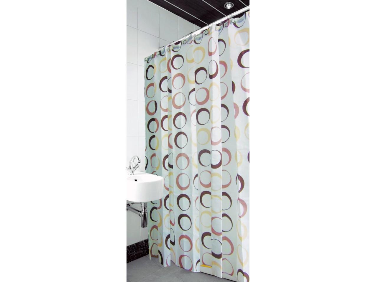 Шторка для ванной и душа Arya Round 180*180 см арт.1352009