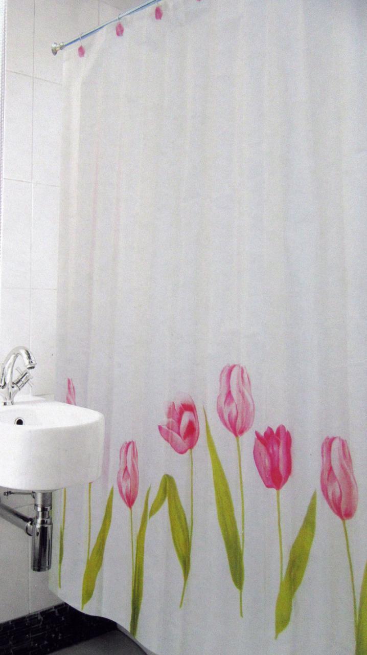 Шторка для ванной и душа Arya Tulip 180*180 см арт.1353033