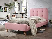 Кровать TIFFANY 90 розовый (Signal)