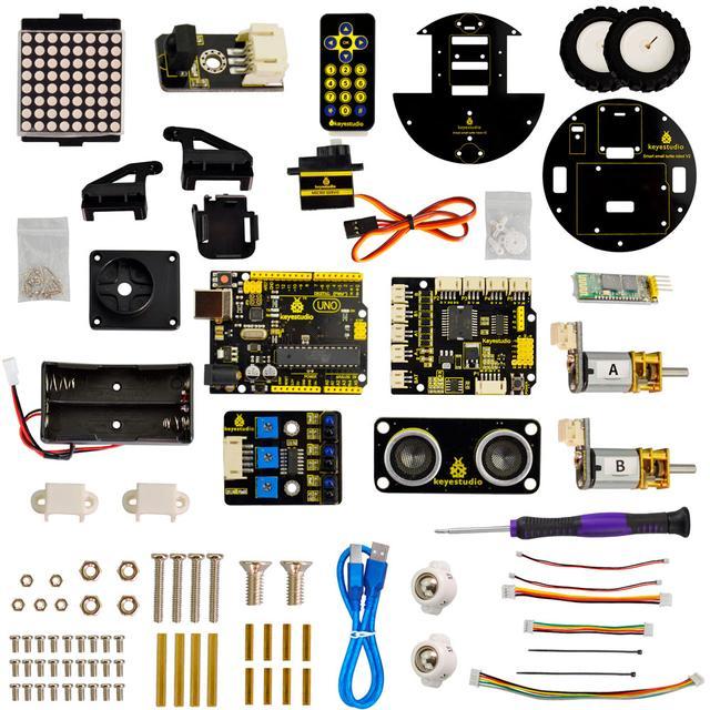 Робот черепашка Arduino Keystudio