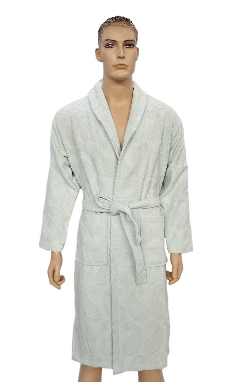 Халат Arya Misley мужской махровый с шальке р. XL Мятный арт.TRK111000012047