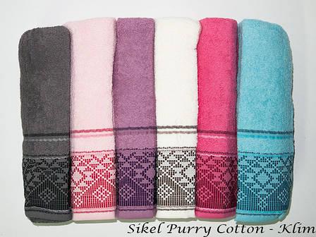 Набор полотенец для лица Purry Cotton 50*90 см махровые банные Klim 6шт, фото 2