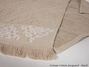 Набір рушників для тіла Cestepe Vip Cotton 70*140 см махрові банні Jacquard Nazli 6шт, фото 3