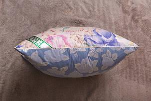 Подушка Экопух 70*70 см 70%перо/30%-пух тик/пухоперьевая 1650г, фото 2