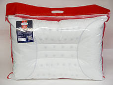 Подушка анатомическая Leleka-textile Home Elegance 50*70 см перкаль/полиэфирное волокно С-01, фото 2