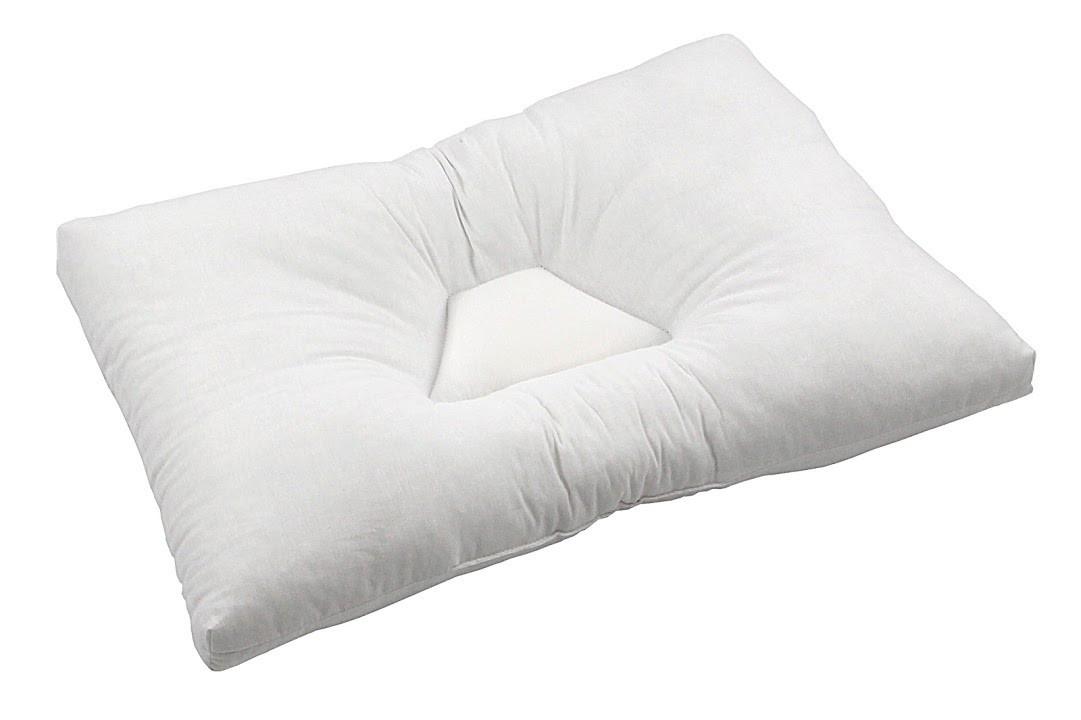 Подушка анатомическая Руно 50*70 см микрофибра/силиконовые шарики арт.310.04Н