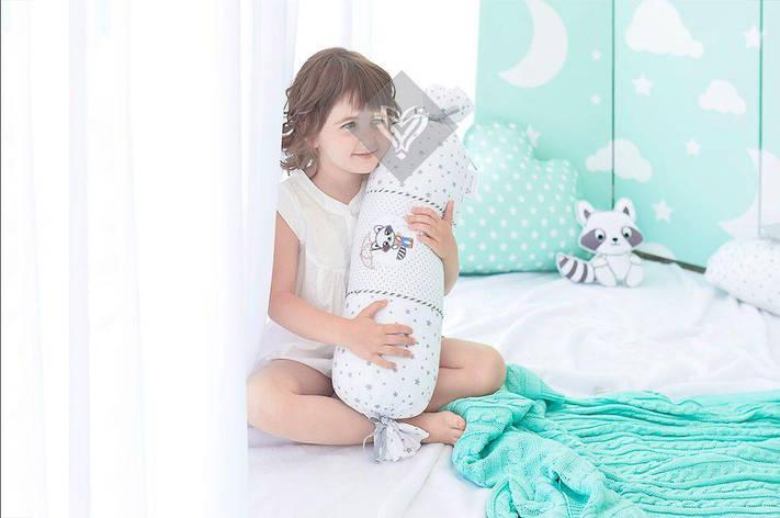 Подушка-валик Ideia Конфета 15*40 см бязь/антиаллергенное волокно детская арт.8-12875, фото 2