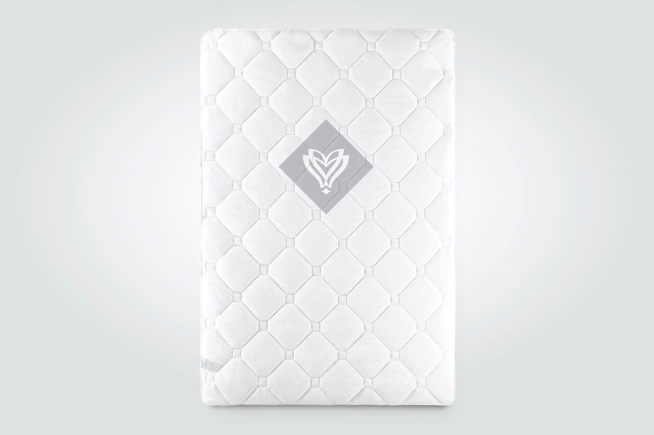 Одеяло Ideia Lux Лето полуторное 140*210 см двухслойное белое арт.8-11772