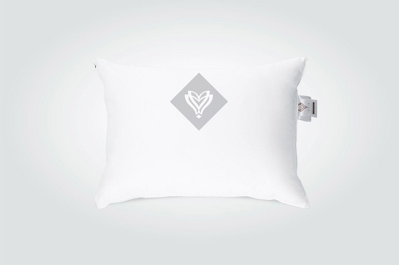 Подушка Ideia Premium 70*70 см белая арт.8-12108