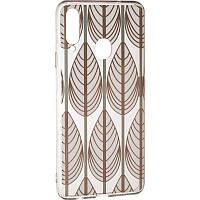 Чехол силиконовый с рисунком Gelius Flowers для Samsung Galaxy A20s A207 Peacock