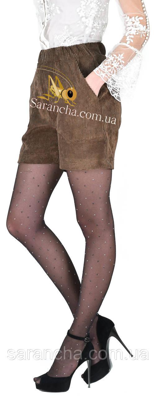 Модные молодежные шортики из вельвета