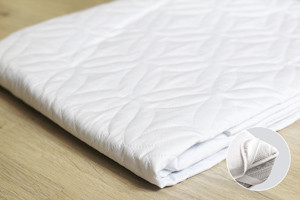 Наматрасник Point Art Econom 80*190 см микрофибра/силиконизированное волокно на резинках