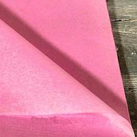 Бумага тишью в листах 50х65 см, розовая (Китай)