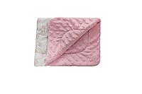 Плед Dotinem Minky 75*85 см плюшевый детский розовый арт.213145-1