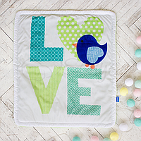 Плед Маленькая Соня Арт дизайн Love №11 80*90 см микрофибра детский арт.5439165