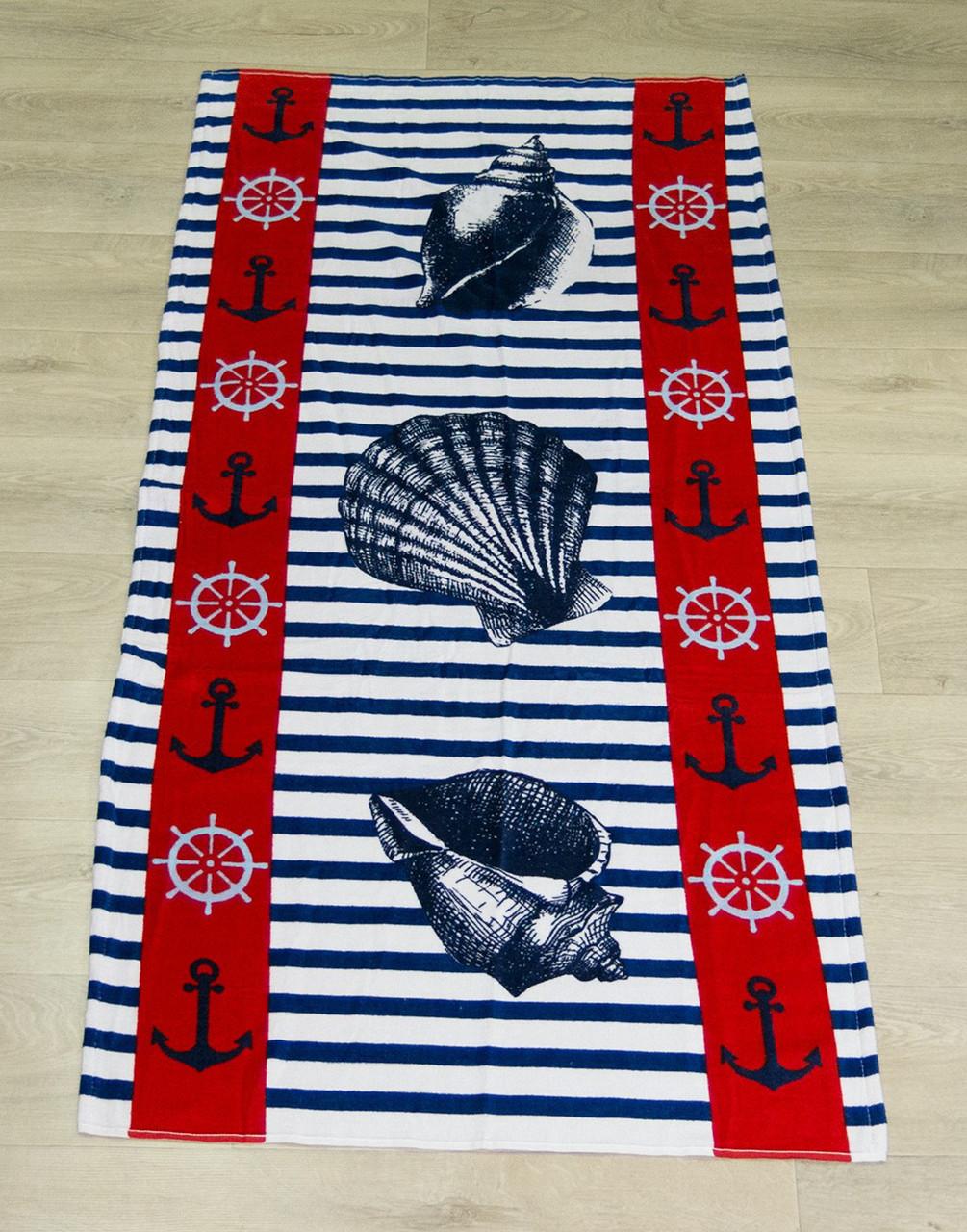 Полотенце пляжное Турция Anchor Shell 75*150 см