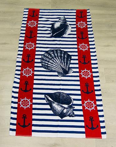 Полотенце пляжное Турция Anchor Shell 75*150 см, фото 2