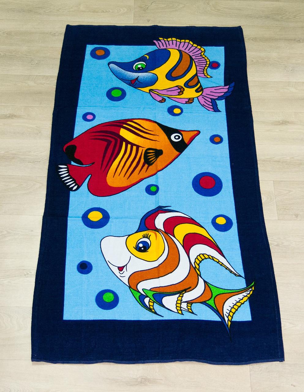 Полотенце пляжное Турция Fish 75*150 см