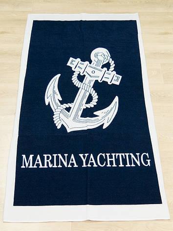Полотенце пляжное Турция Marina Yachting 75*150 см, фото 2