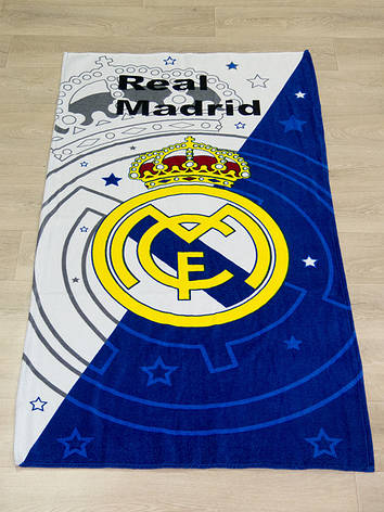 Полотенце пляжное Турция Real Madrid 75*150 см, фото 2