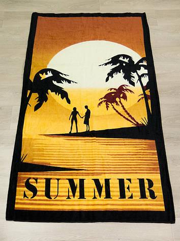 Полотенце пляжное Турция Summer 75*150 см, фото 2