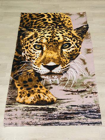 Полотенце пляжное Турция Леопард 75*150 см, фото 2