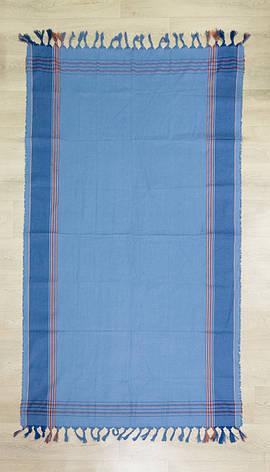 Полотенце-пештемаль Cestepe Blue 100*175, фото 2
