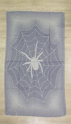 Полотенце-пештемаль Cestepe Spider 100*175, фото 2