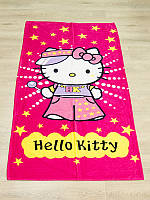 Полотенце пляжное Турция Hello Kitty 75*150 см