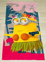 Полотенце пляжное Турция Minion Girl 75*150см