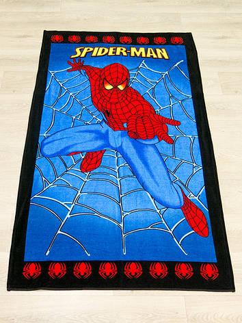 Полотенце пляжное Турция Spiderman 75*150см детское, фото 2