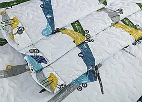 Покрывало с наволочкой Arya Planes полуторное 180*240 см + наволочка 50*70+5 см полиэстер подростковое арт.TR1005087, фото 2