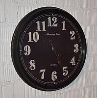 """Настінний годинник """"Coal mine"""" (51 см.), фото 1"""