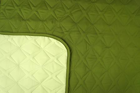 Покривало Руно Зірка зелене 212*240 арт.329.52У_ЗС зірка, фото 2