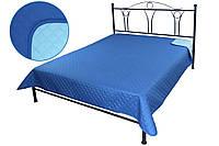 Покрывало Руно Ромб Евро 212*240 см микрофибра паяное синее арт.329.52У_СБ ромб