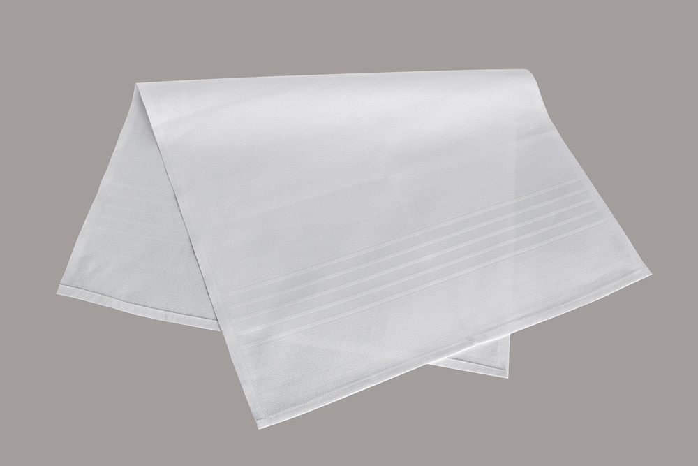 Полотенце после бритья LiMaSo хлопок белое 56*90 см арт.Venezia.56х90